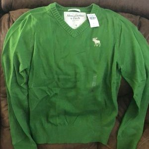 BRAND NEW A&F v-neck sweater